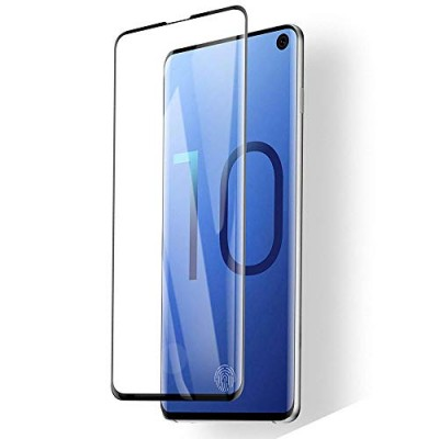 Samsung Galaxy S10 Full Face Tempered glass / Αντιχαρακτικό Γυαλί Πλήρους Οθόνης 3D Μαύρο