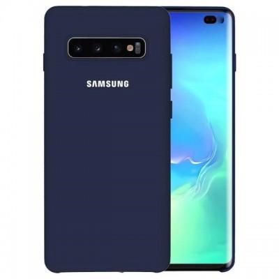 Premium Θήκη Samsung Galaxy S10 Σιλικόνης Soft Liquid Tpu -Navy Blue