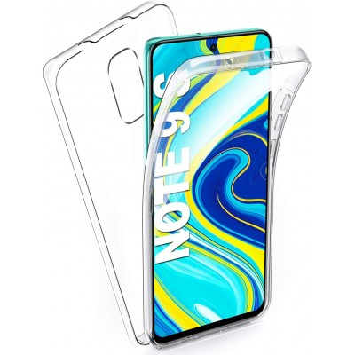 Xiaomi Redmi Note 9 Pro / Note 9s  Θήκη 360 protection front and back full body- Διάφανη