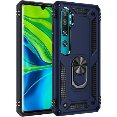 Θήκη Xiaomi Mi Note 10 Lite Rugged Armor Cover -Σκούρο Μπλε