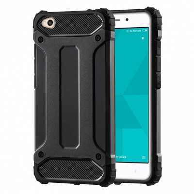 Θήκη Xiaomi Redmi Note 5A Forcell Hybrid Tech Armor Case Ανθεκτική -Black