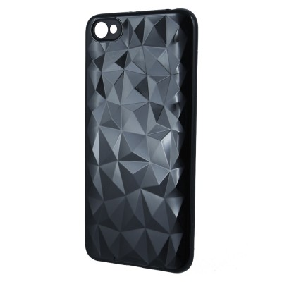Θήκη Xiaomi Redmi Note 5A Σιλικόνης Forcell Air Prism 3D Pattern Flexible  -Black