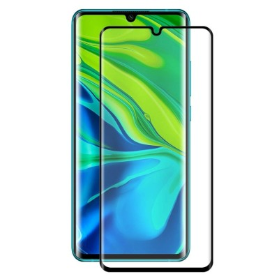 Xiaomi Mi Note 10/ Note 10 Pro  3D Full Face Curved Black Αντιχαρακτικό Γυαλί 9H Tempered Glass