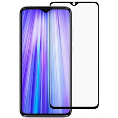 Xiaomi Redmi Note 8 Pro Full Face Curved Black Αντιχαρακτικό Γυαλί 10H Tempered Glass