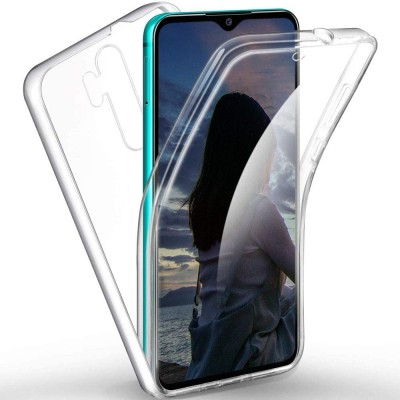 Xiaomi Redmi Note 8 Pro Θήκη 360 protection front and back full body- Διάφανη