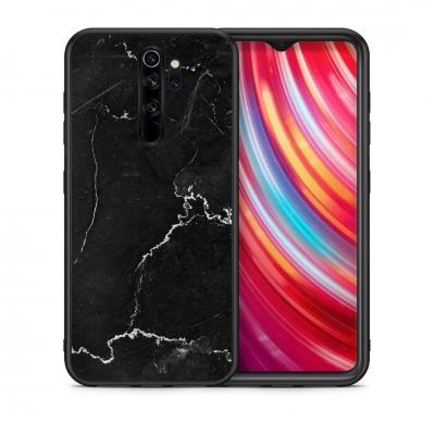 Θήκη Xiaomi Redmi Note 8 Pro  Modern Black Marble Glass