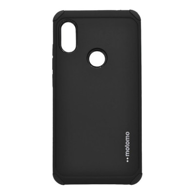 Θήκη Samsung Galaxy A20s Motomo Tough Armor Back Cover Υβριδική κατασκευή  -Black