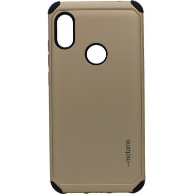 Θήκη Samsung Galaxy A20s Motomo Tough Armor Back Cover Υβριδική κατασκευή  -Gold