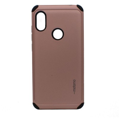 Θήκη Samsung Galaxy A20s Motomo Tough Armor Back Cover Υβριδική κατασκευή  -Rose Gold